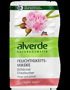Alverde Feuchtigkeitsmaske Wildrose Sheabutter