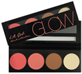 L.A. Girl Beauty Brick Blush Collection Glow Paletta