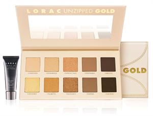 Lorac Unzipped Gold Eye Shadow Palette