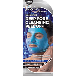 Montagne Jeunesse 7th Heaven Men's Spearmint Deep Pore Cleansing Peel Off Mask