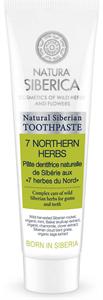 Natura Siberica 7 Northen Herbs Fluoridmentes 7 Gyógynövényes Fogkrém