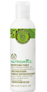 The Body Shop Nutriganics Refreshing Toner