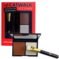 W7 Trends Catwalk Face Shaper Kontúrozó és Highlighter Paletta
