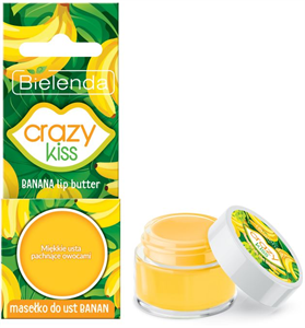 Bielenda Crazy Kiss Banán Ajakápoló Vaj