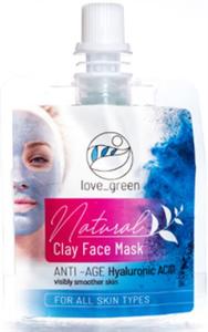 Hedera Vita Love.Green Natural Anti-Age Clay Face Mask