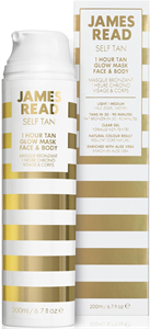 James Read Self Tan 1 Hour Tan Glow Mask Face