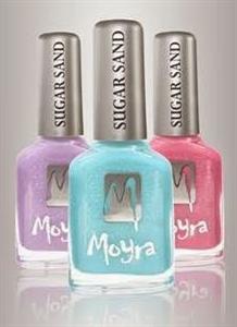 Moyra Sugar Sand Effect Körömlakk