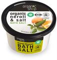 Organic Shop Narancsvirágzás Fürdősó Narancsvirág és Teneri Só Kivonattal