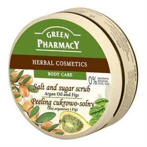 Green Pharmacy Sós Testradír Argánolaj és Füge Kivonattal