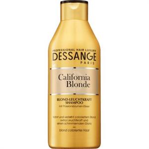 Dessange Shampoo California Blonde Sampon Szőkített Hajra