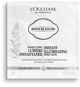 L'Occitane Reine Blanche Instant Illuminating Sheet Mask