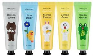 Missha Line Friends Edition Love Secret Hand Cream
