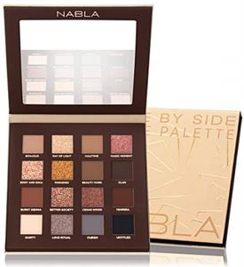 Nabla Side By Side Nude Eyeshadow Palette szemhéjpúder