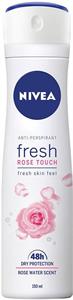 Nivea Fresh Rose Touch Dezodor