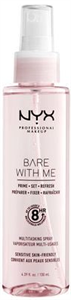 NYX Professional Makeup Bare With Me Prime Set Refresh Multitasking Spray