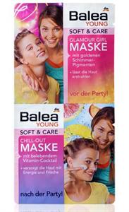 Balea Young Soft + Care Glamour Girl Maszk