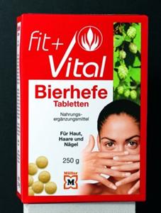 Fit + Vital Bierhefe Tabletten