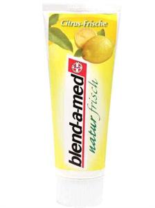 Blend-A-Med Naturfrisch Citrus Fogkrém
