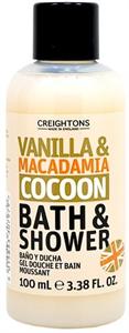 Creightons Vanilla and Macadamia Bath & Shower Tusfürdő