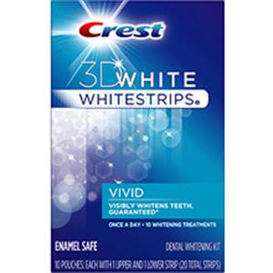 Crest 3D Whitestrips Vivid Teeth Whitening System