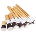eBay Travel 11pcs Bamboo Cosmetic Brush