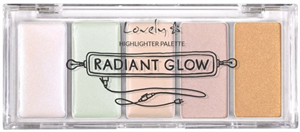 Lovely Radiant Glow Highlighter Palette
