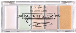 Lovely Radiant Glow Highlighter Palette