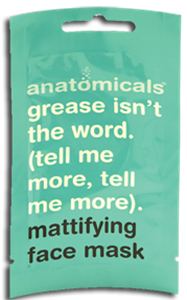 Anatomicals Grease Isn't the Word (Tell Me More, Tell Me More) Mattító Maszk