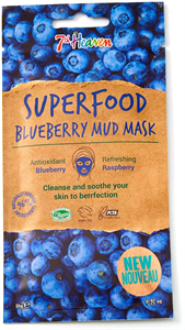 Montagne Jeunesse 7th Heaven Superfood Blueberry Mud Mask