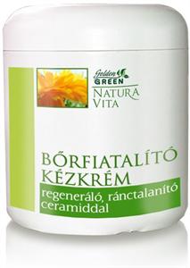 Golden Green Natura Vita Bőrfiatalító Kézkrém
