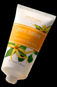 Oriflame Pure Nature Arcmaszk Pacsulival és Ilang-Ilanggal