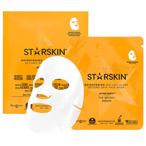 Starskin Coconut Bio Celluluose Brightening Skin Face Mask