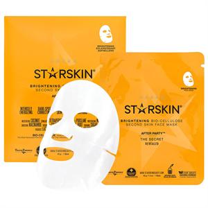 Starskin Coconut Bio Celluluose Brightening Skin Face Mask