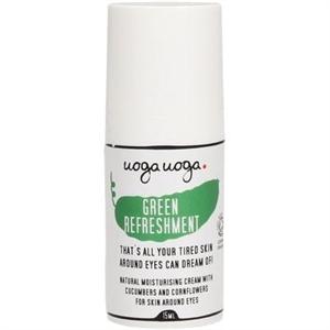 """Uoga Uoga """"Green Refreshment"""" Hidratáló Szemkörnyékápoló Krém"""