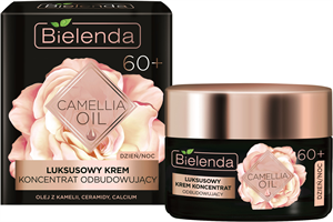 Bielenda Camellia Oil - 60+ Luxus Újjáépítő Hatású Krém-Koncentrátum