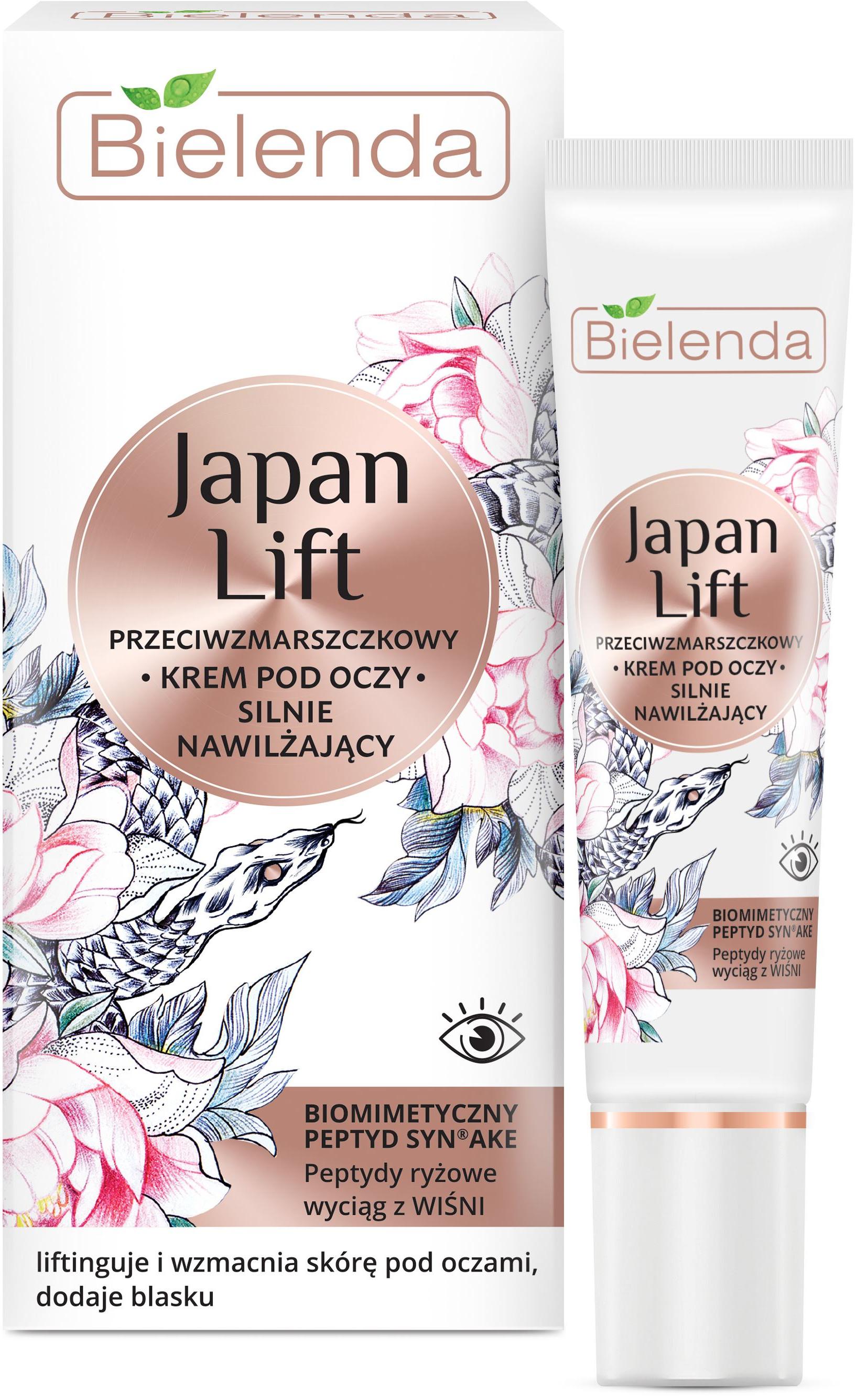 Bielenda Japan Lift Ránctalanító és Intenzív Hidratáló..