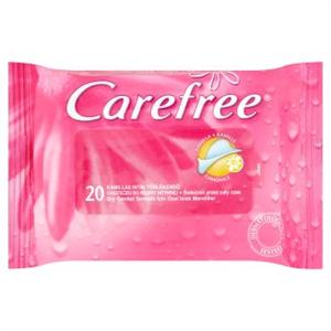 Carefree Intim Törlőkendő Kamillával