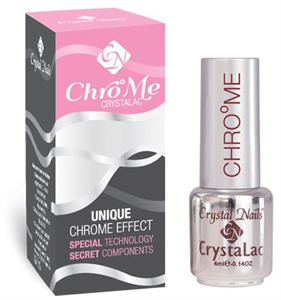 Crystal Nails Chrome Crystalac
