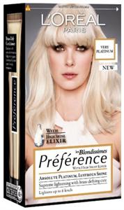 L'Oreal Préférence Les Blondissimes Hajfesték