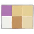 MaqPro Professional Fard Palette 6 NK10