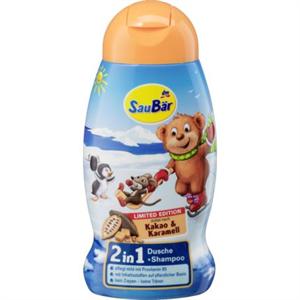 SauBär Kakao & Karamell 2in1 Dusche + Shampoo
