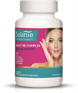 Solanie Beauty BB Complex Skin Hair Nail Étrend-Kiegészítő Lágyzselatin