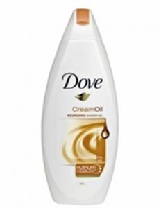Dove Purely Pampering Cream Oil Bőrtápláló Krémtusfürdő