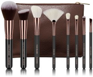 Evana Rose Gold 8 Pcs Brush Set
