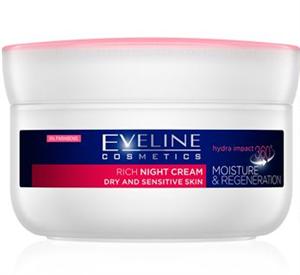 Eveline Cosmetics Hydra Impact 360° Regeneráló Éjszakai Krém