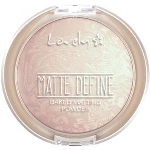 Lovely Matte Define Smink Rögzítő Púder
