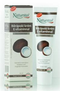 Naturstar Bőrápoló Krém E-Vitaminnal és Kókuszpálmaolajjal