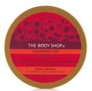 The Body Shop Vörösáfonyás Testradír