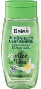 Balea Schönheitsgeheimnisse Aloe Vera Tusfürdő