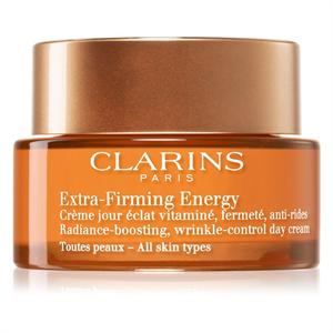 Clarins Extra-Firming Energy Radiance-Boosting Wrikle-Control Nappali Krém